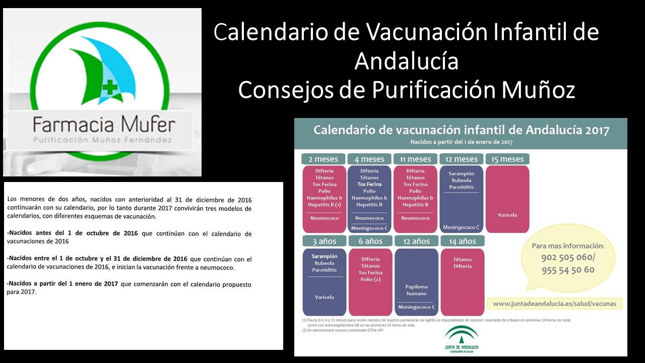 Calendario Vacunal Andalucia.Partir Del 1 De Enero De Este Ano El Sas Introduce Modificaciones En