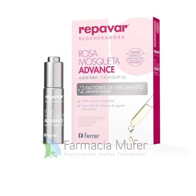 Repavar® Regeneradora Aceite Puro de Rosa Mosqueta ADVANCE