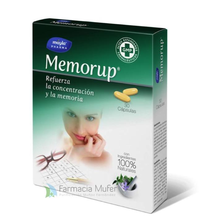 MEMORUP® MEMORIA Y CONCENTRACION 30 CAPSULAS