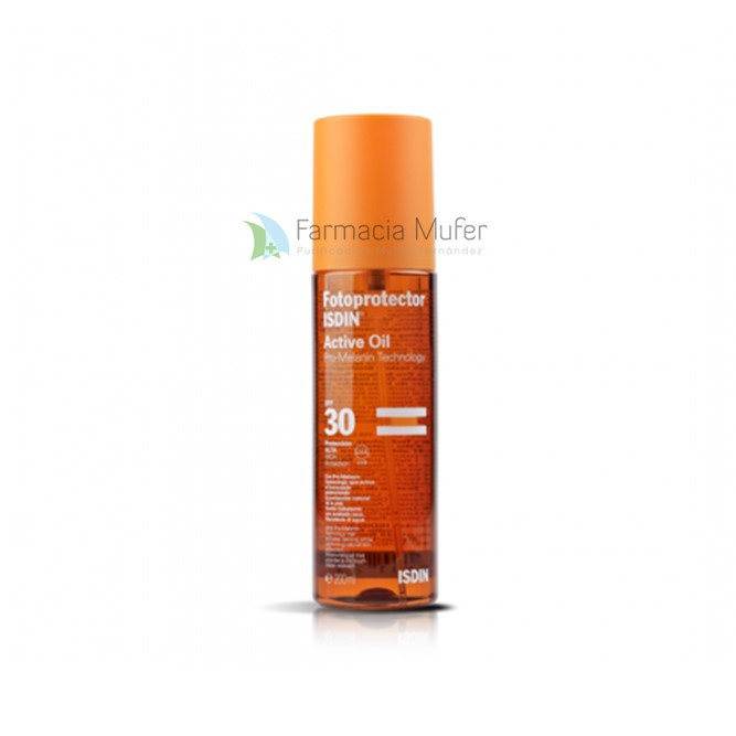 FOTOPROTECTOR ISDIN ACTIV ACEITE SPF-30