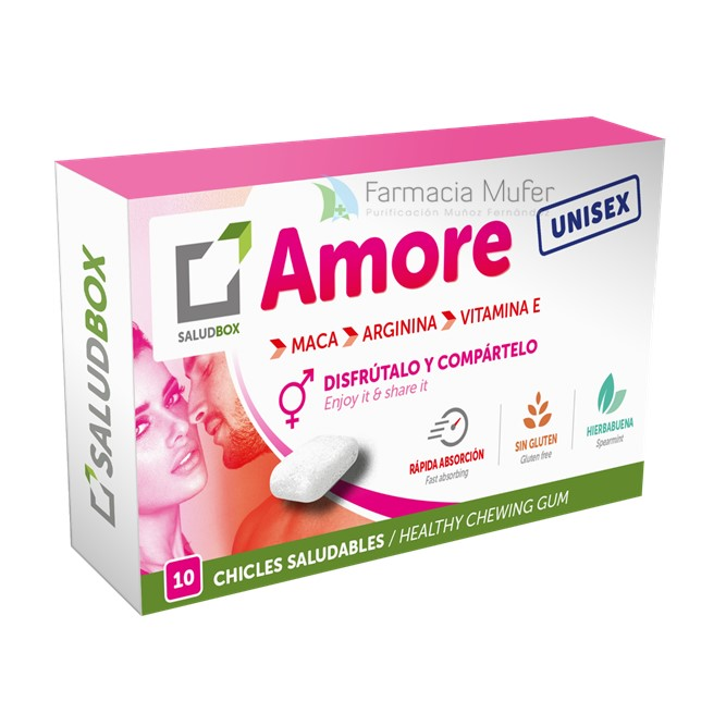 SALUDBOX CHICLES SALUDABLES AMORE