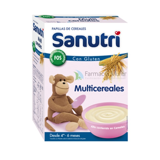 SANUTRI MULTICEREALES 600 G