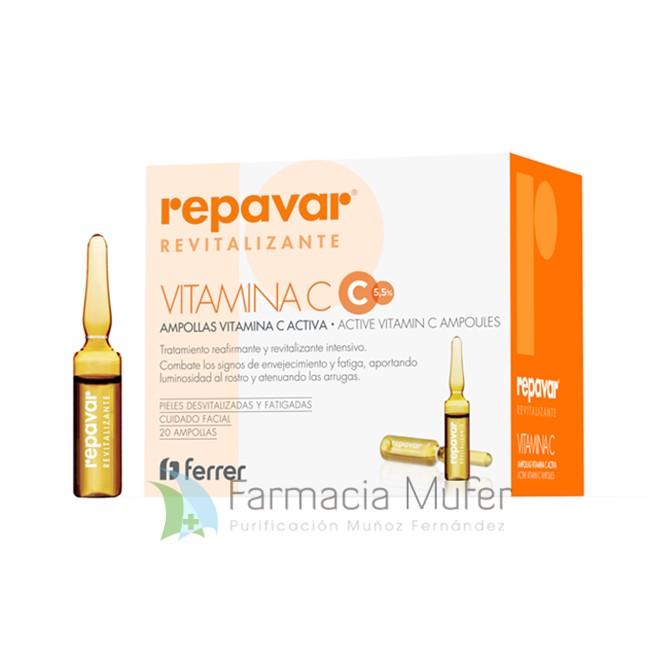 Repavar® Revitalizante Ampollas vitamina C Activa