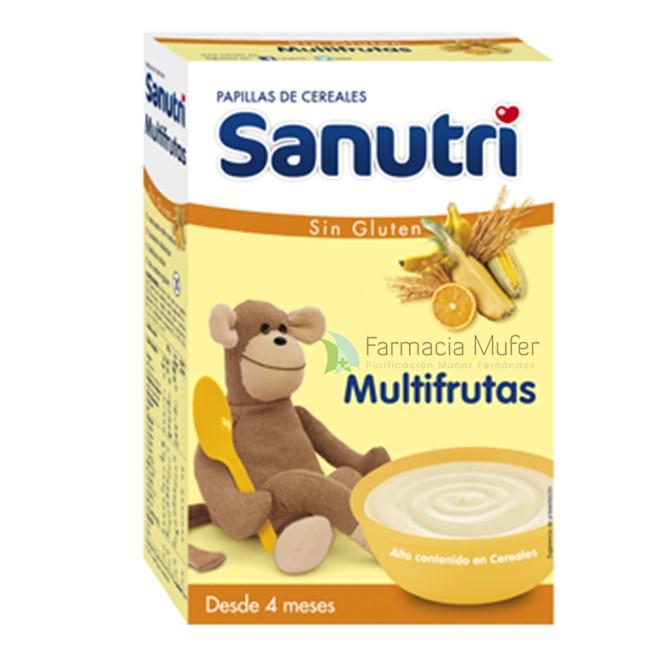 SANUTRI MULTIFRUTAS SIN GLUTEN 600 G