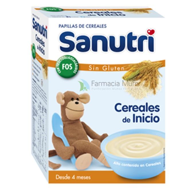 SANUTRI CEREALES DE INICIO SIN GLUTEN 600 G