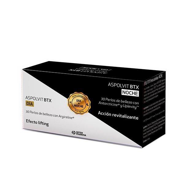 Pack ASPOLVIT BTX Perlas de belleza · DÍA + NOCHE · 60 cápsulas